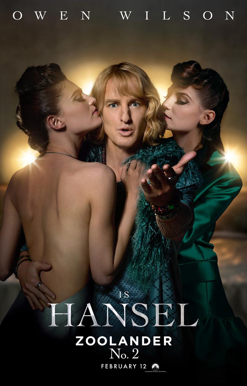 Zoolander 2: il character poster di Hansel