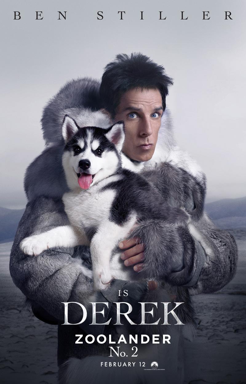 Zoolander 2: il character poster di Derek