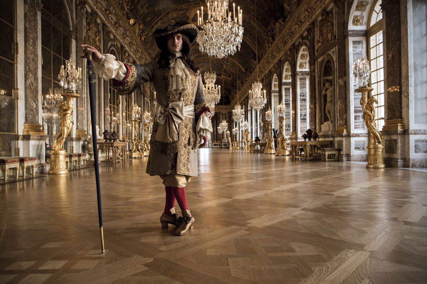 Versailles: una foto della serie francese mostra le magnifiche ambientazioni