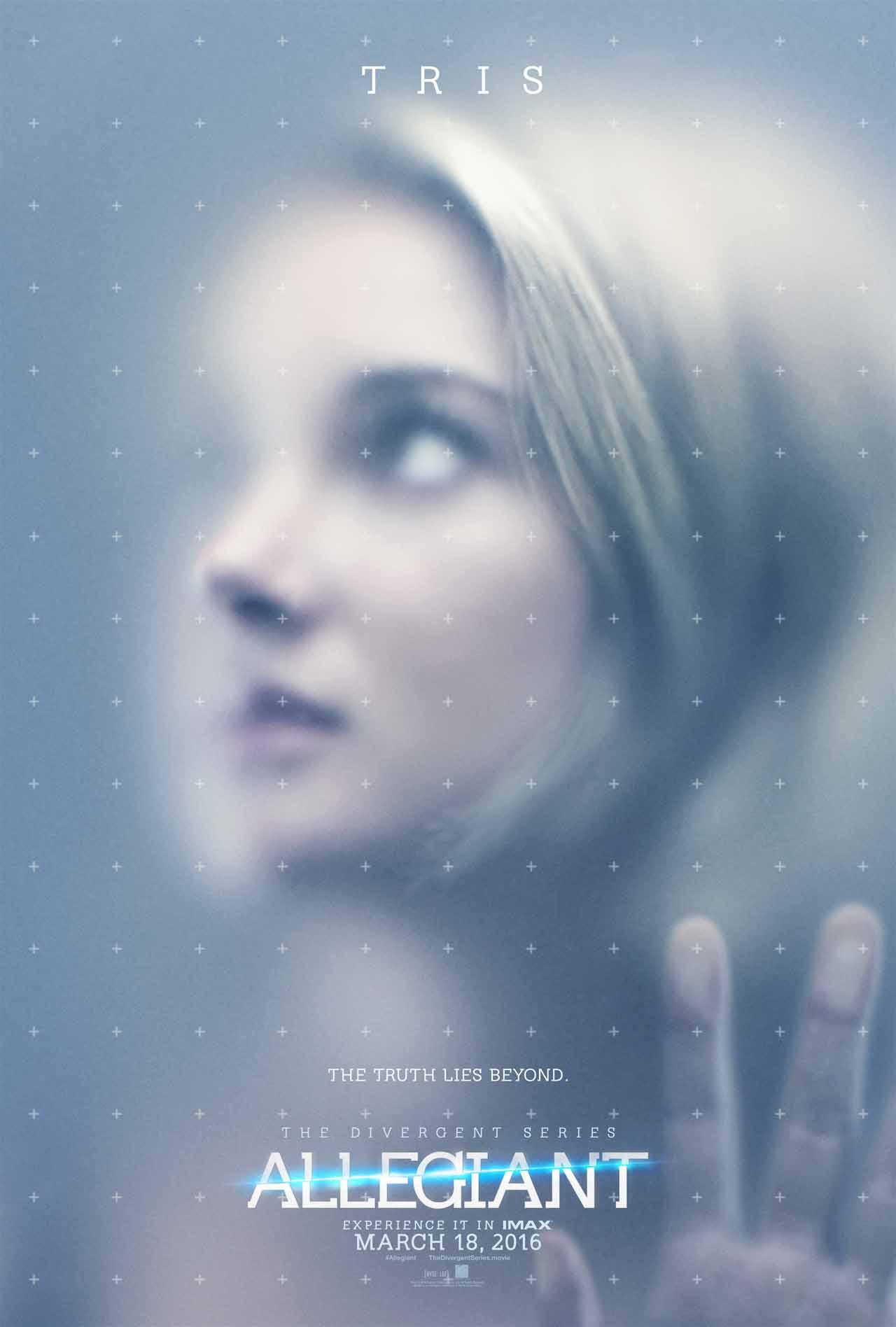 Allegiant: part 1 - Il poster dedicato a Tris