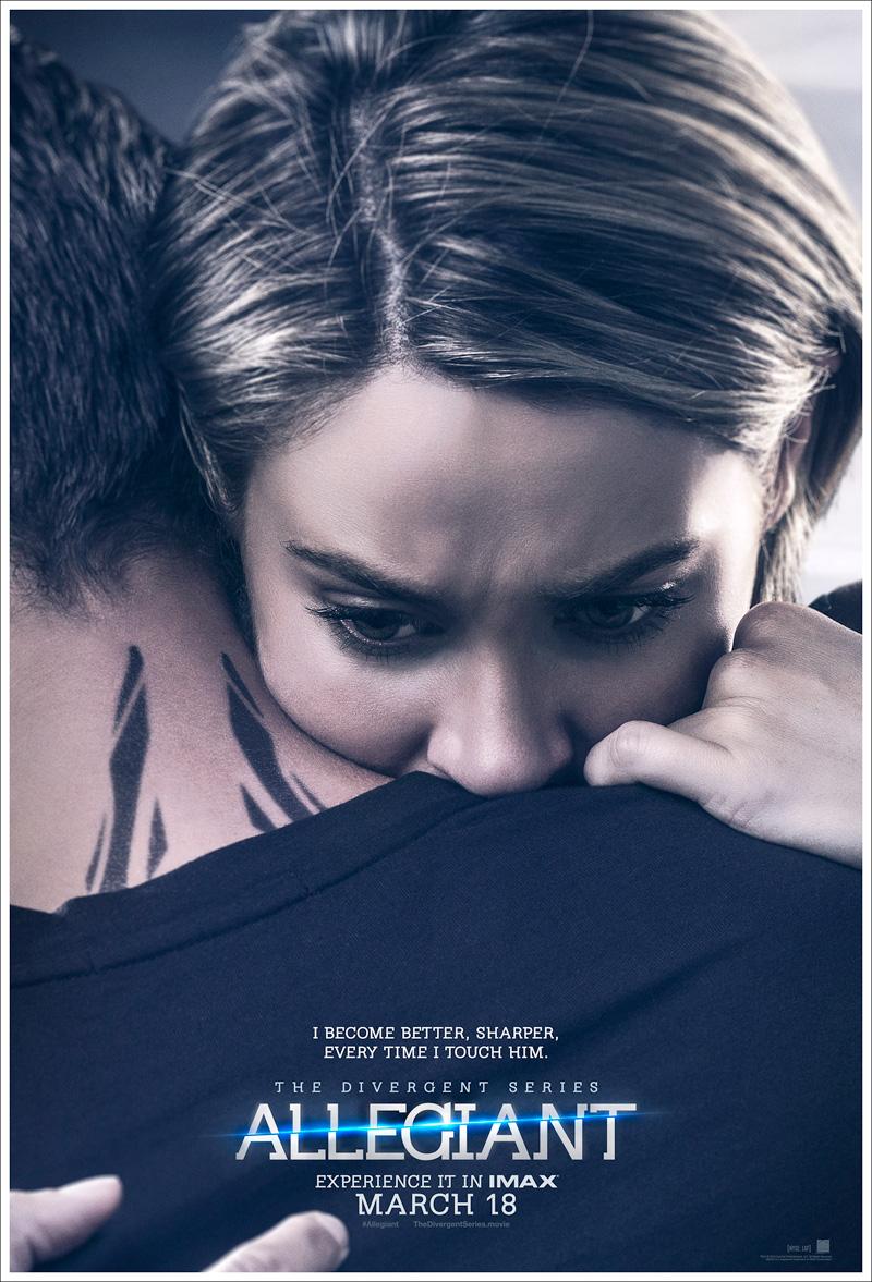 Allegiant: part 1 - Il character poster di Tris