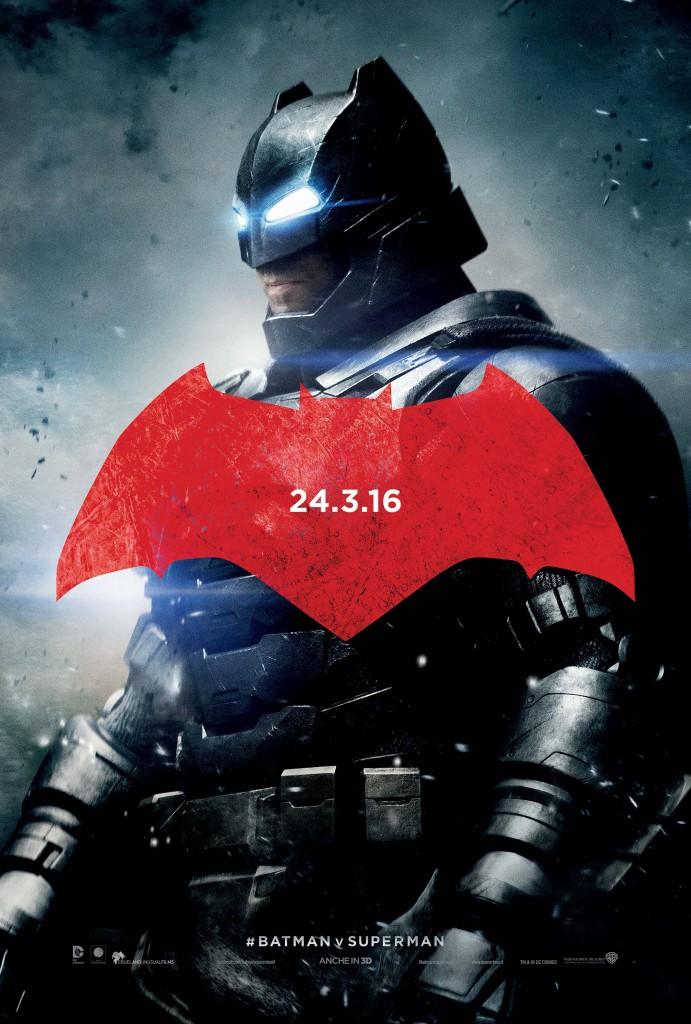 Batman v Superman: Dawn of Justice, il character poster di Ben Affleck nei panni di Batman