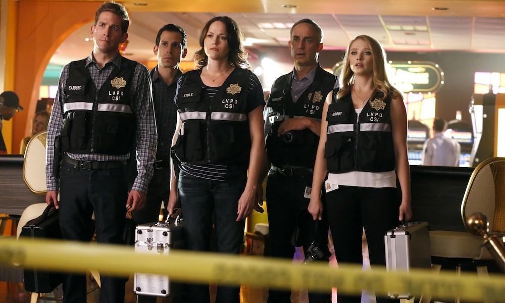 CSI: Scena del crimine - alcuni dei protagonisti dell'episodio Immortality sulla scena del crimine