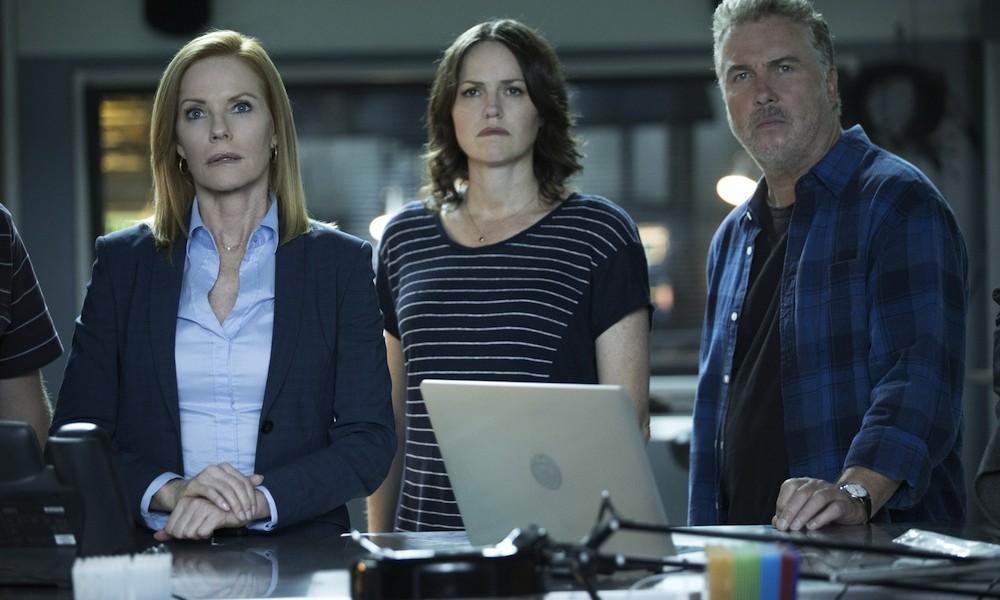 CSI: Scena del crimine - Marg Helgenberger, Jorja Fox e William Petersen in una foto dell'ultimo episodio intitolato Immortality