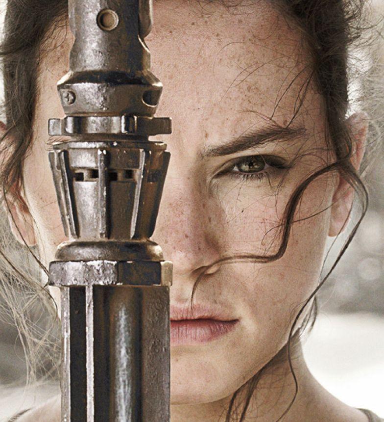 Daisy Ridley, un'immagine promo per Star Wars: Il risveglio della Forza