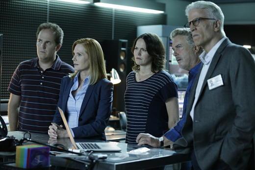 CSI: Scena del crimine - i protagonisti dell'ultimo episodio della serie, intitolato Immortality