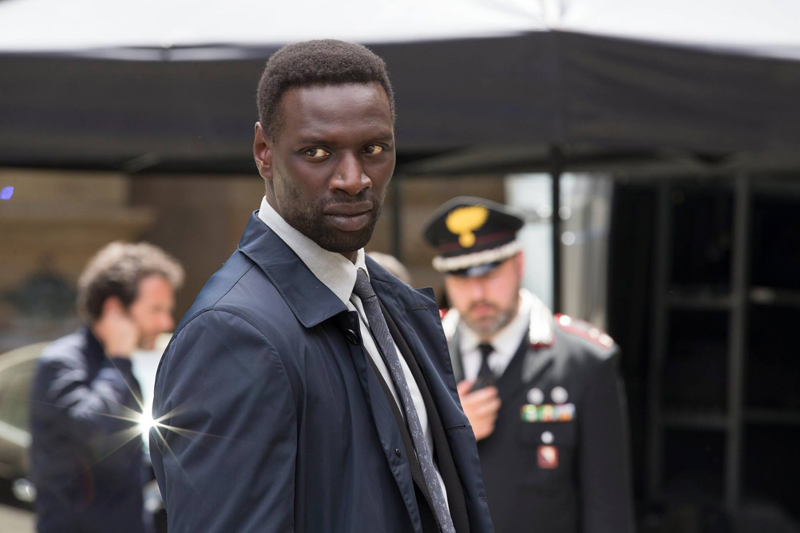 Inferno: Omar Sy in una foto del film