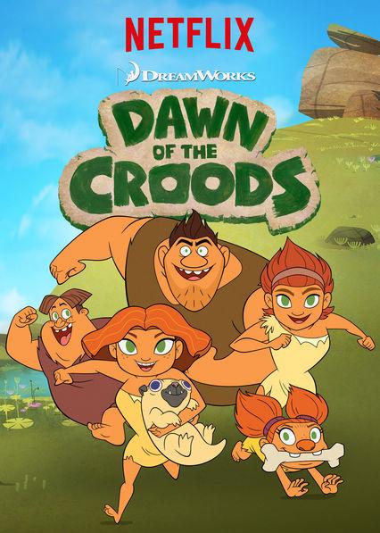 Dawn of the Croods: la locandina della serie