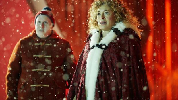 Doctor Who: Matt Lucas e Alex Kingston in The Husbands of River Song
