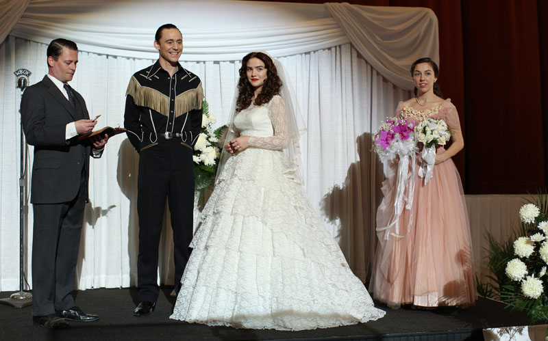 I Saw The Light - Tom Hiddleston sposa Maddie Hasson