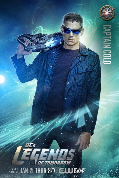 Legends of Tomorrow: il character poster di Wentworth Miller