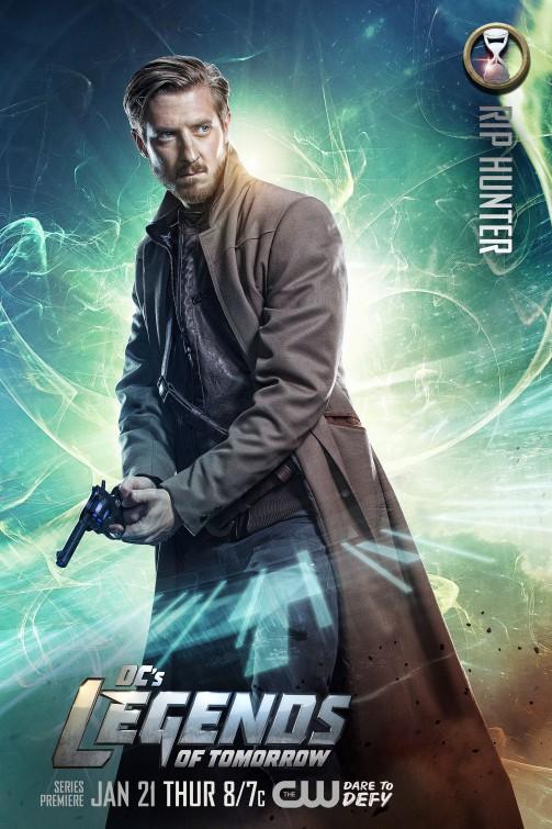 Legends of Tomorrow: il character poster di Arthur Darvill