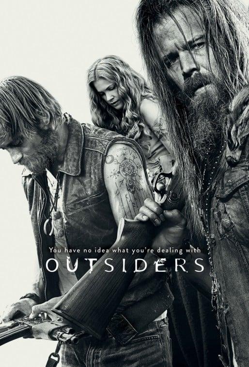 Outsiders: la locandina della serie