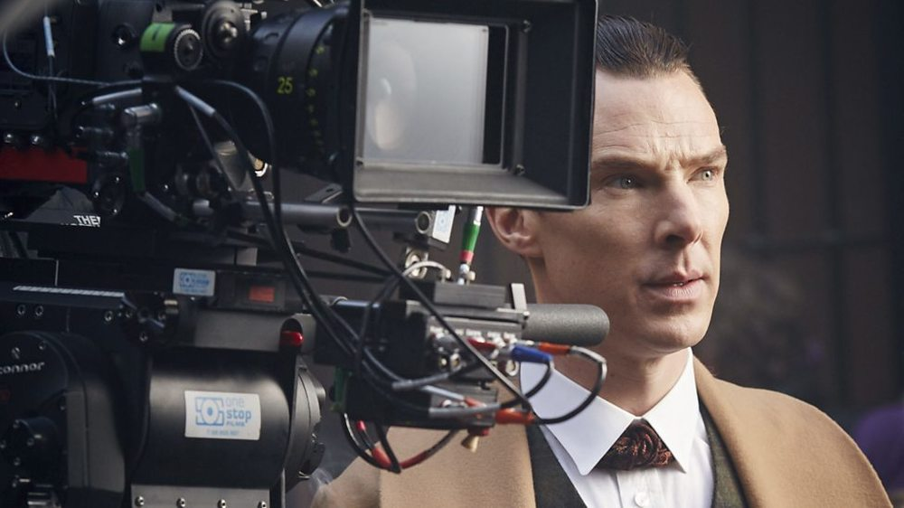 Sherlock - L'abominevole sposa: Benedit Cumberbatch in un'immagine dal set