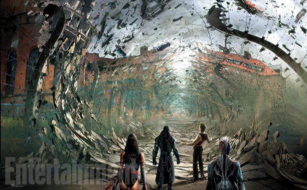 X-Men: Apocalypse - Un concept art del film