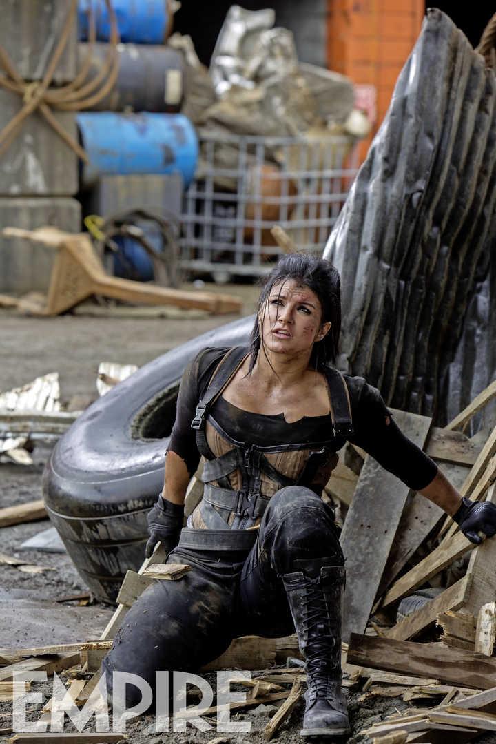 Deadpool: Gina Carano interpreta Angel Dust