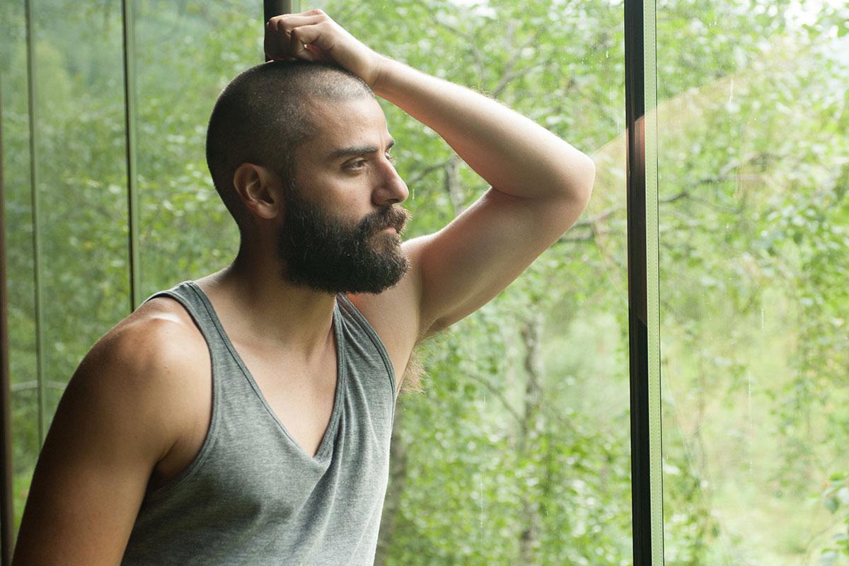 Oscar Isaac in Ex Machina
