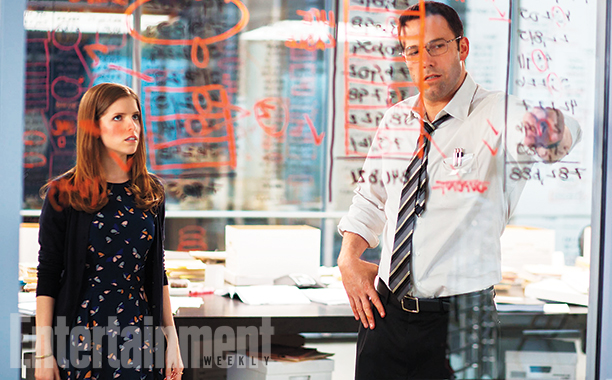 The Accountant: Anna Kendrick e Ben Affleck nella prima immagine