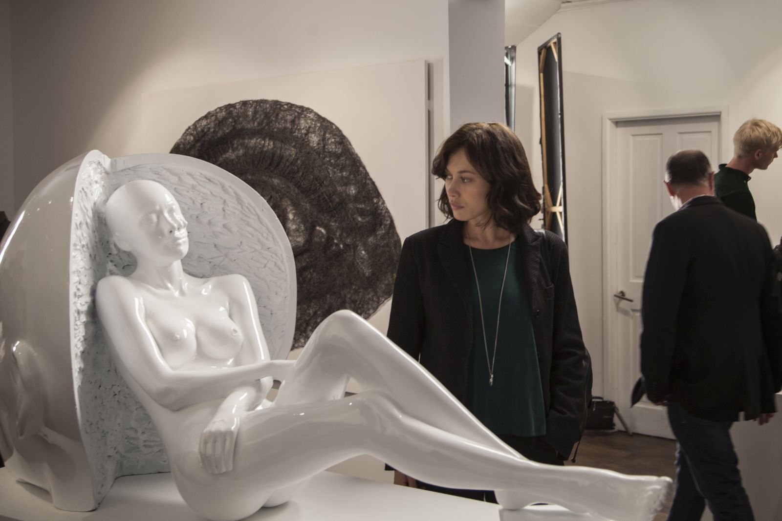 La corrispondenza: Olga Kurylenko in una scena del film di Tornatore