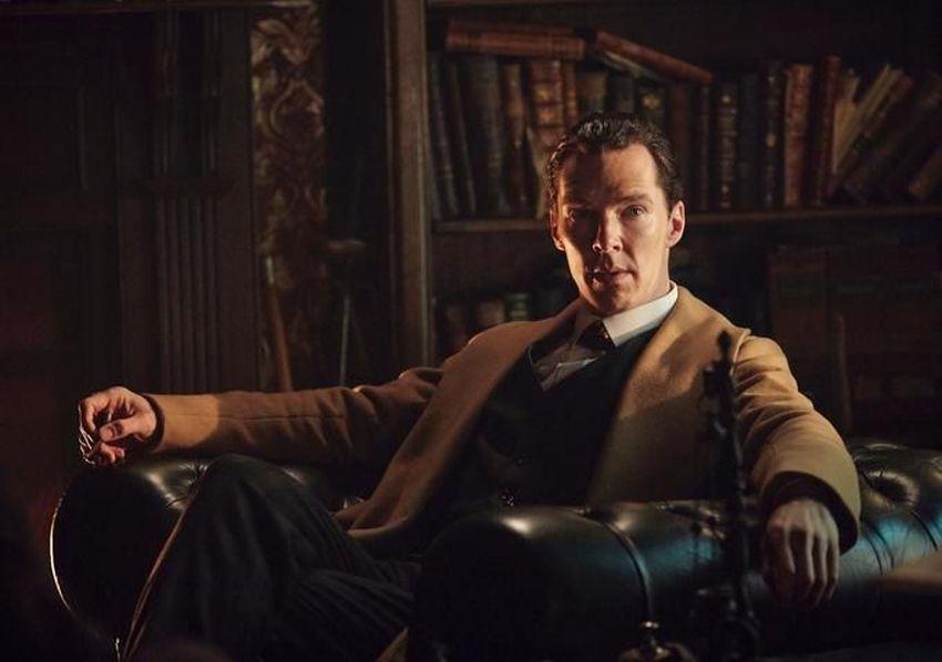Sherlock - L'abominevole sposa: Benedict Cumberbatch in poltrona