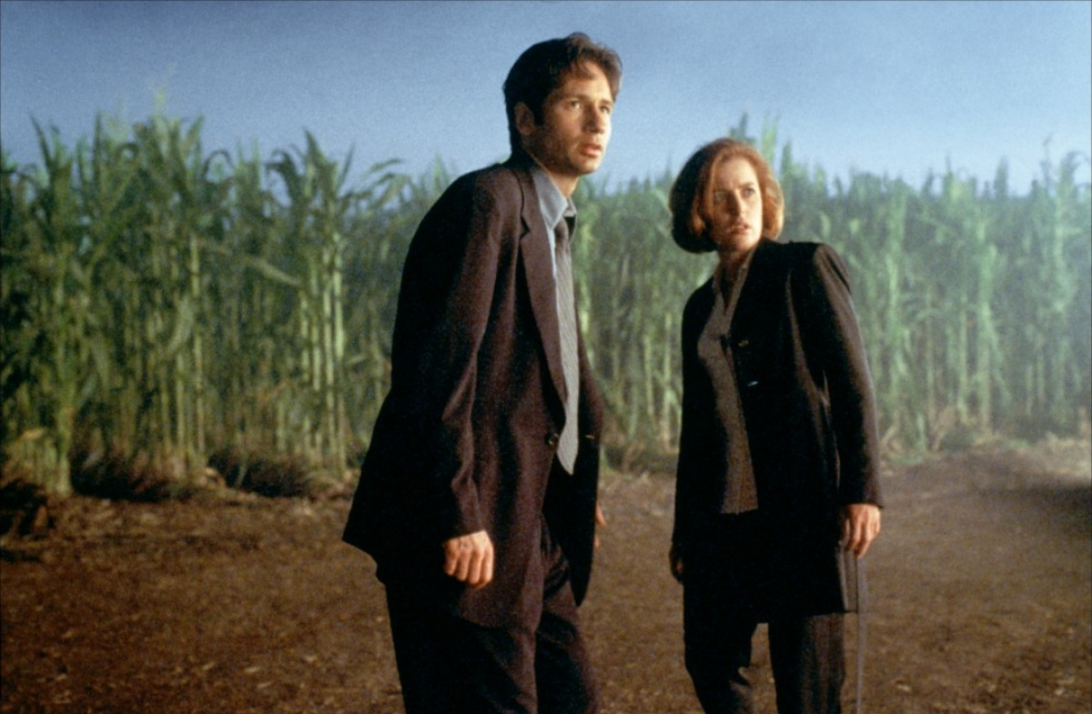 X-Files - Il film: Mulder e Scully in una scena