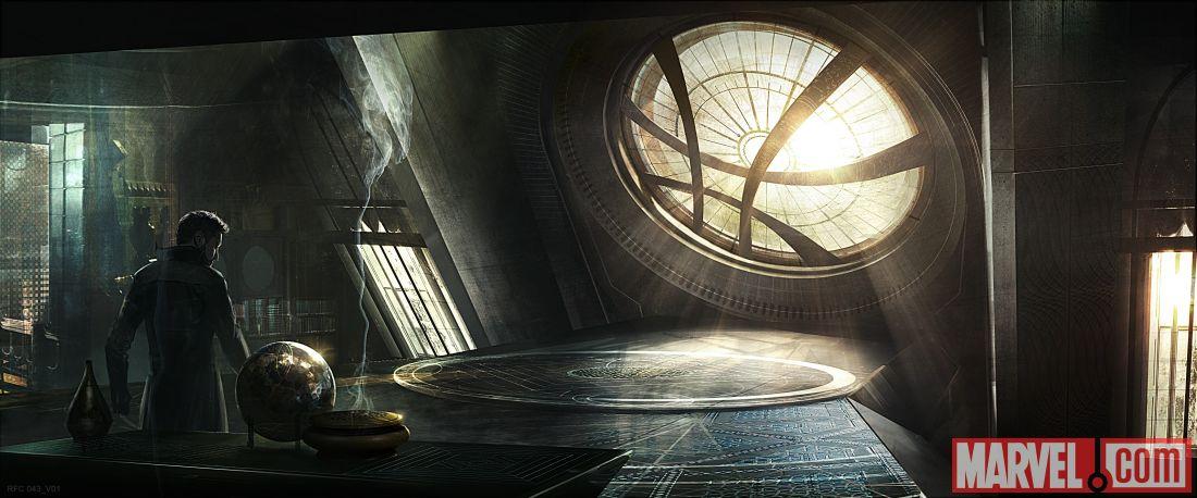 Doctor Strange: ecco il Sancta Sanctorum del Dottore