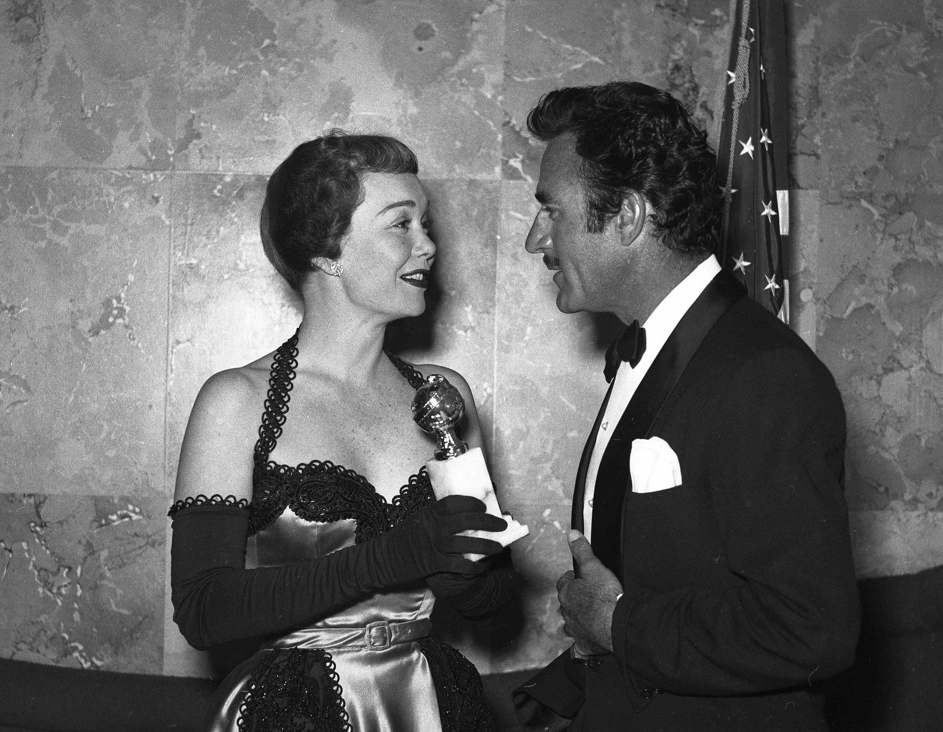 Jane Wyman premiata con il Golden Globe