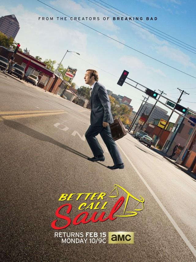 Better Call Saul: la locandina della seconda stagione