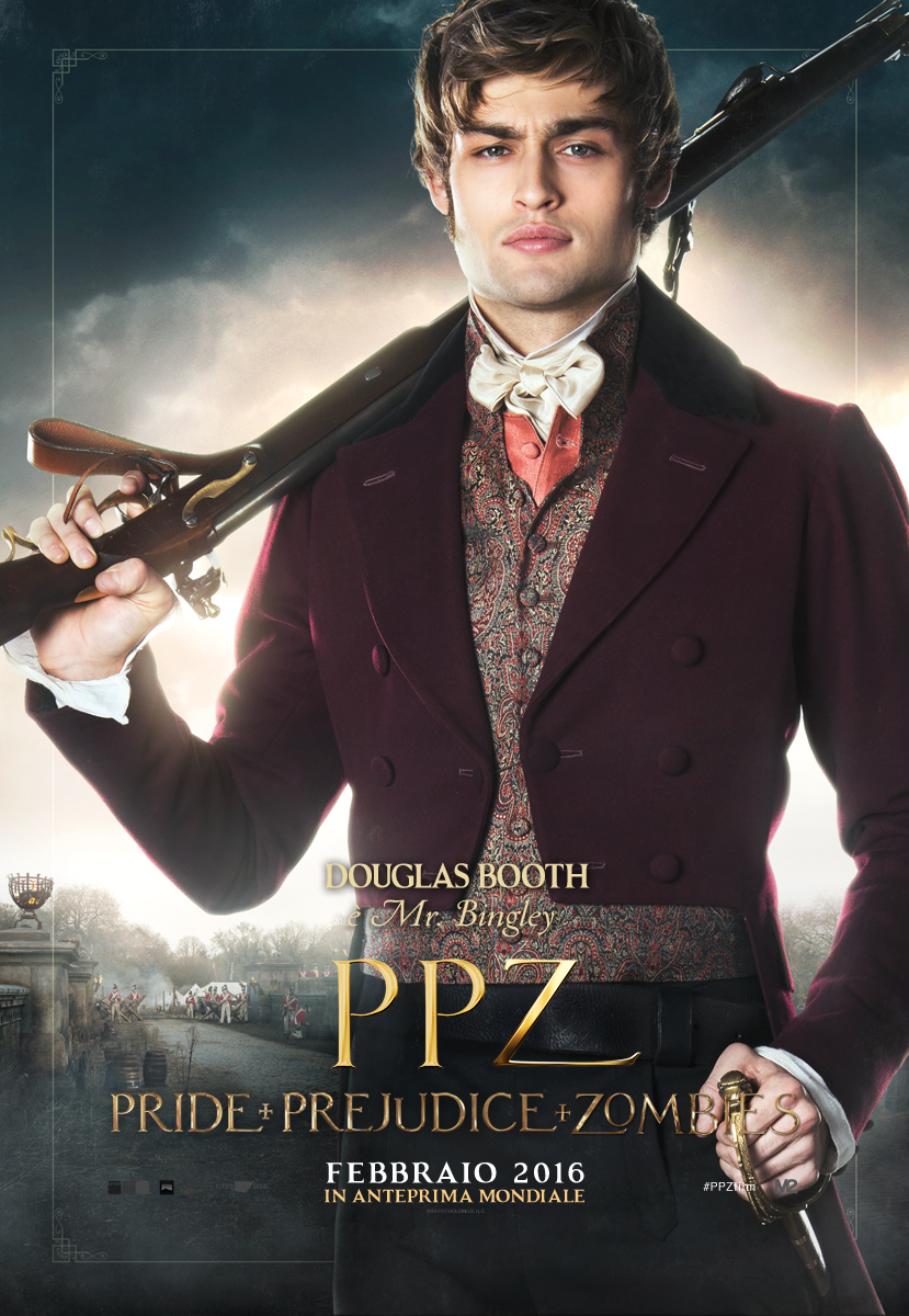 PPZ – Pride and Prejudice and Zombies: il character poster italiano di Douglas Booth