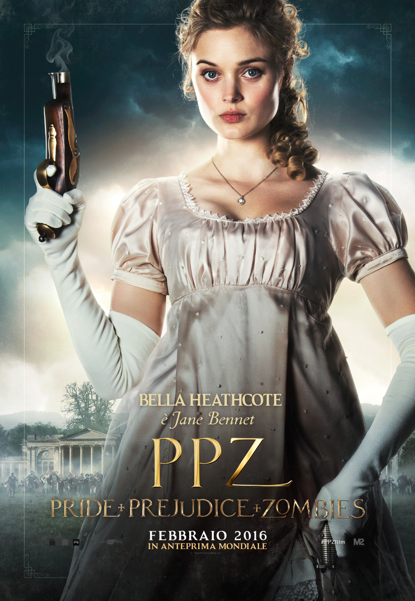 PPZ – Pride and Prejudice and Zombies: il character poster italiano di Bella Heathcote