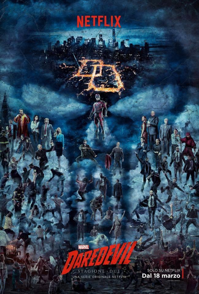 Daredevil: la locandina della seconda stagione
