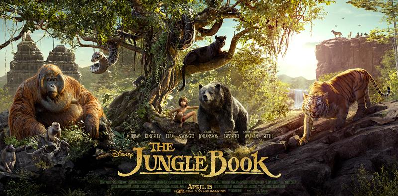 Il libro della giungla: il poster dedicato ai protagonisti