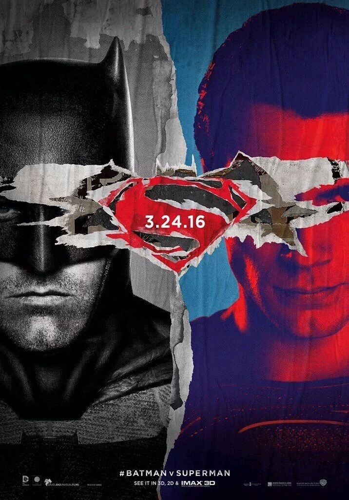 Batman V Superman: Dawn of Justice - Una nuova locandina artistica