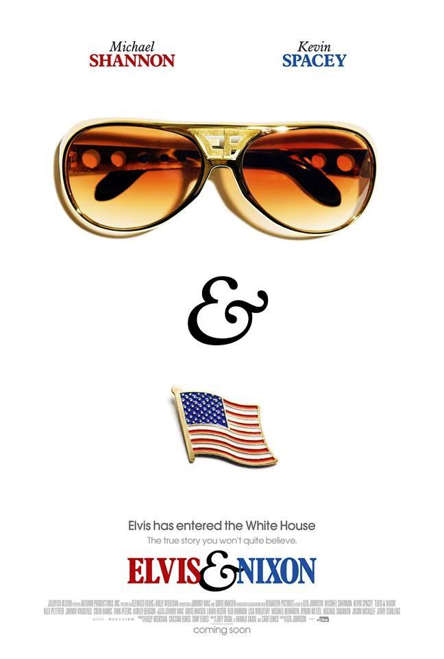 Elvis & Nixon: la locandina del film