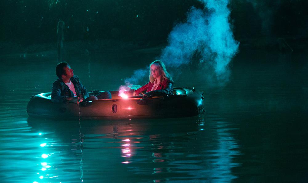 Hap and Leonard: James Purefoy e Christina Hendricks in un canotto