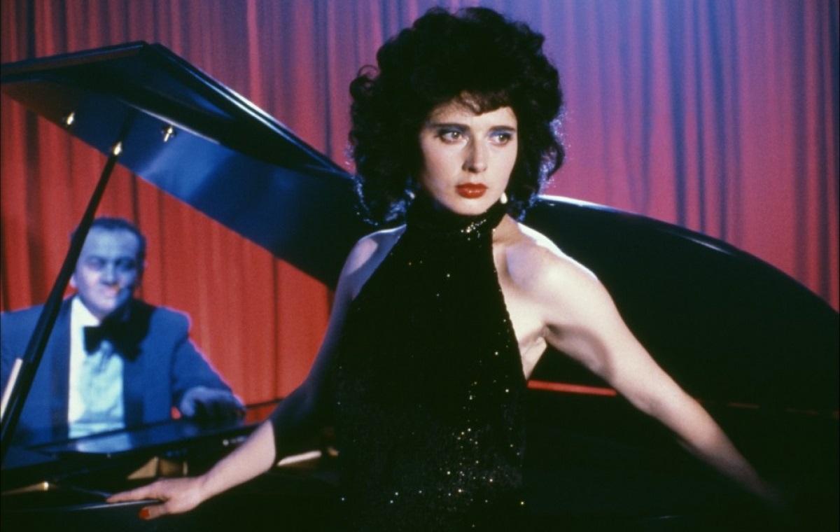 Velluto blu: Isabella Rosselini in una scena del film