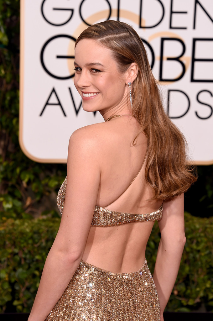 Brie Larson sul red carpet dei Golden Globes 2016