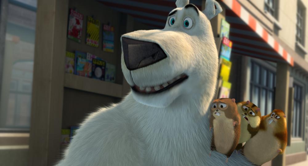Il viaggio di Norm: un'immagine tratta dal film animato