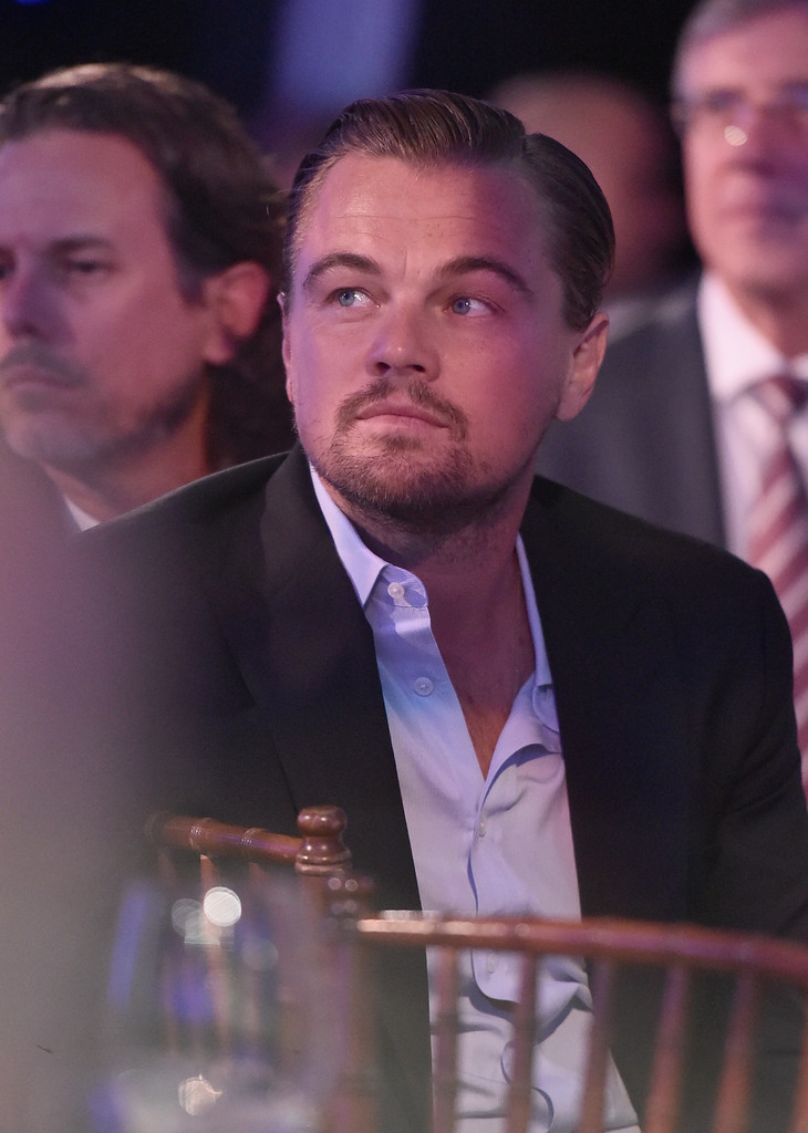 Golden Globes 2016 - Leonardo DiCaprio durante la serata