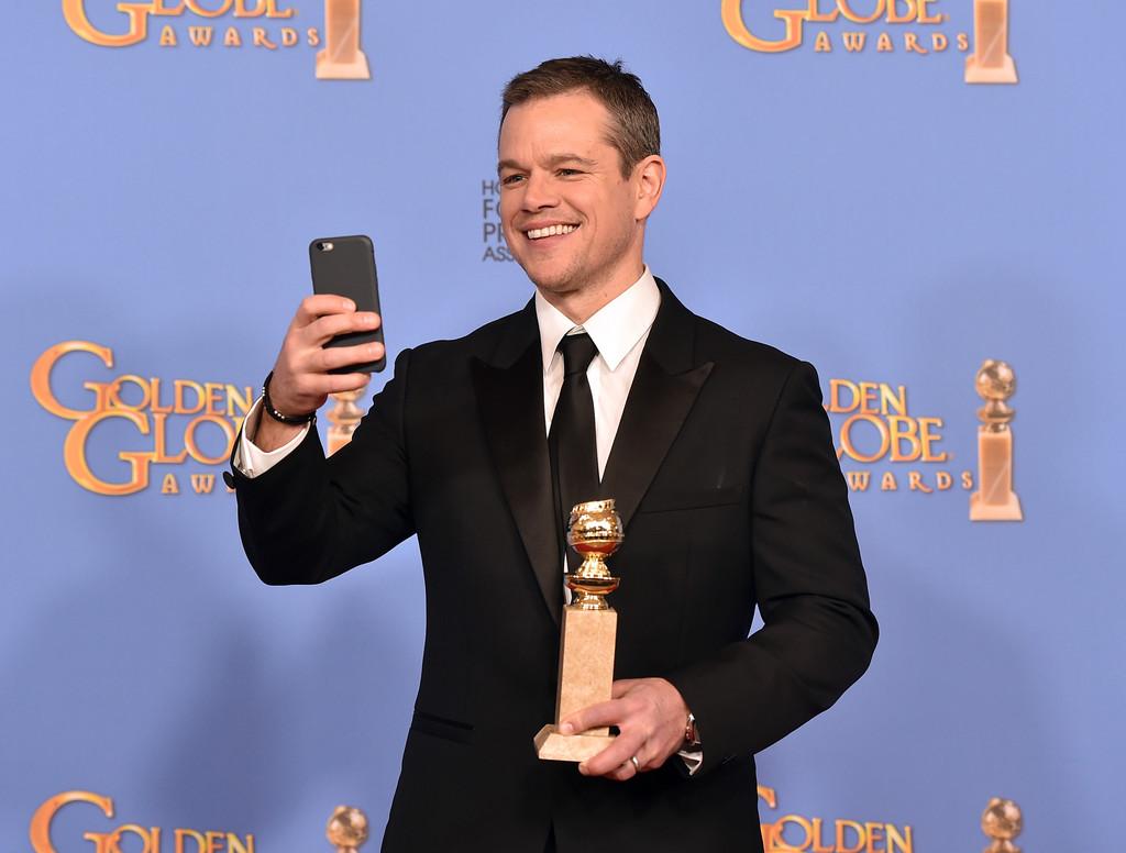 Golden Globes 2016 - Matt Damon vincitore con The Martian