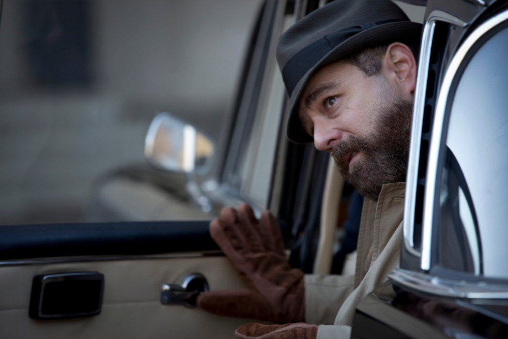 The Eichmann Show: Andy Nyman in una scena del film