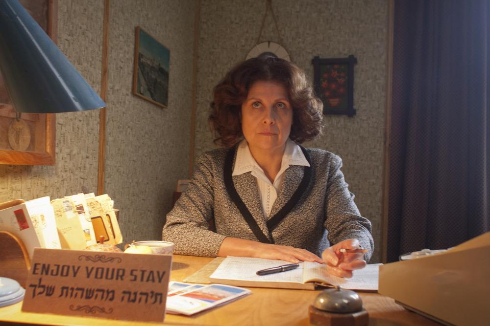 The Eichmann Show: Rebecca Front in una scena del film