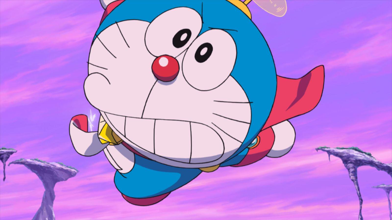 Doraemon il film: Nobita e gli eroi dello spazio, un'immagine del film animato