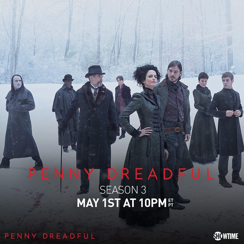 Penny Dreadful: il manifesto della terza stagione