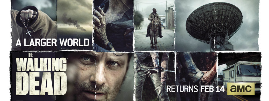 The Walking Dead: un banner della seconda metà della sesta stagione