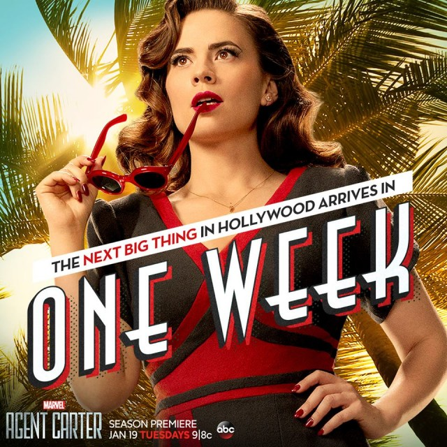 Agent Carter: un'immagine promozionale per la seconda stagione