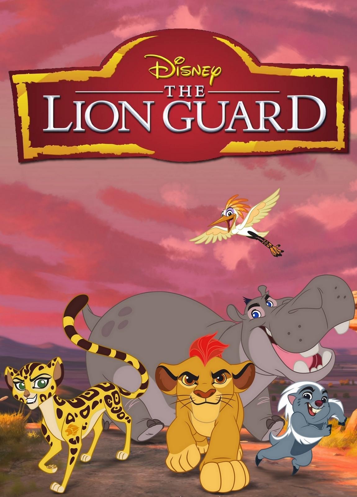 The Lion Guard: la locandina della serie