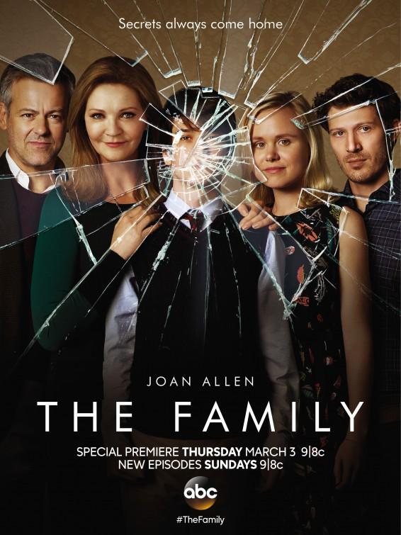 The Family: la locandina della serie drammatica