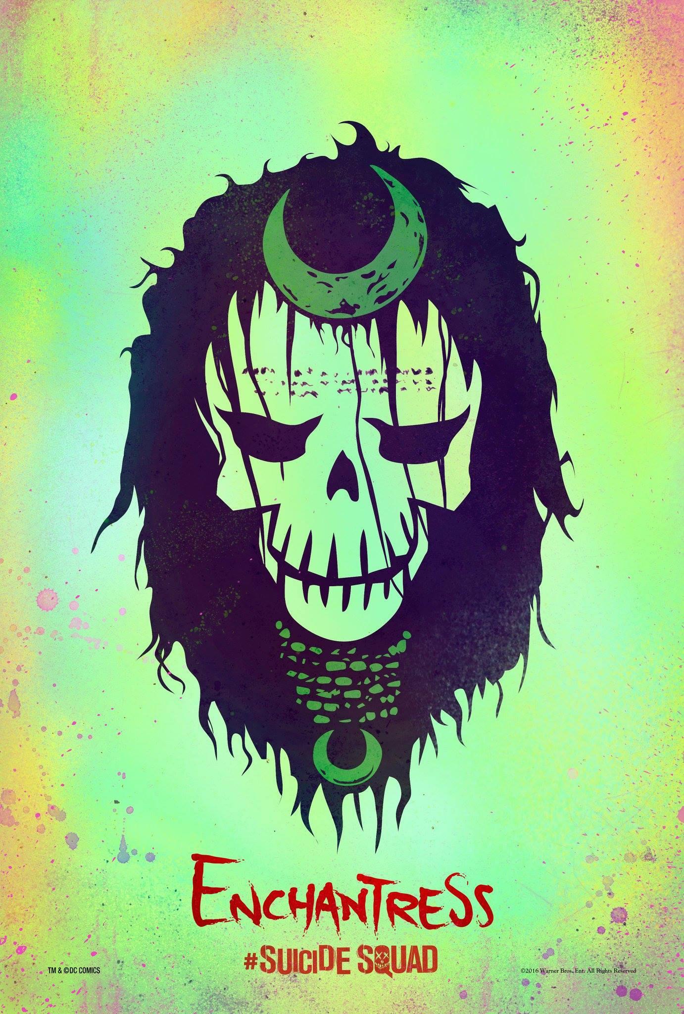 Suicide Squad: il character poster stilizzato di Incantatrice