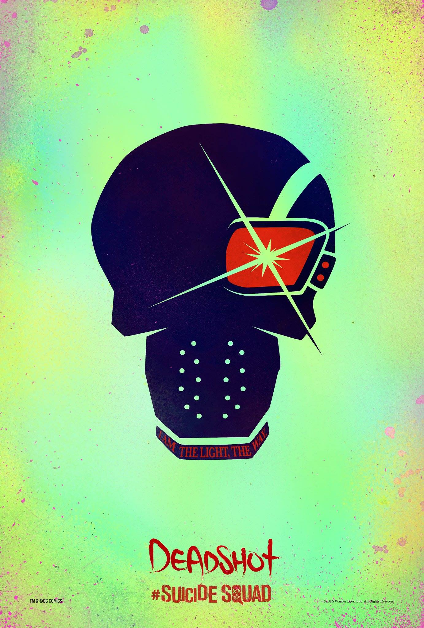 Suicide Squad: il character poster stilizzato di Deadshot